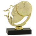 Silhouette Soccer Trophy